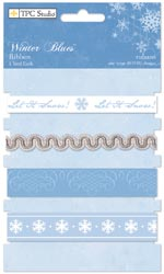 Winter Blues Ribbons