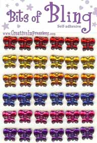 Bling Butterflies - Bright