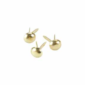 Mini Round Brads Bulk Pack (1000) - Gold