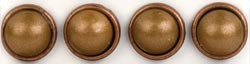 Large Pearl Brads - Copper