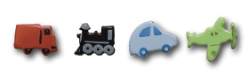 Vehicles Shaped Brads