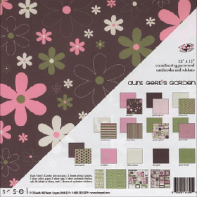SEI Scrapbook Assortment - Aunt Gerti's Garden