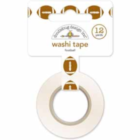 Footballs Washi Tape