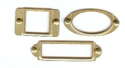 Frames with brads - Brushed Gold