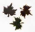 Fall Maple Leaf Brads - Metal Asst. (50)