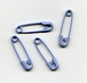 Safety Pins (50) - Pastel Blue