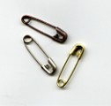 Safety Pins (50) - Antique