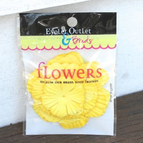 Paper Flowers - Yellow