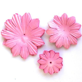 Paper Flowers - Pink