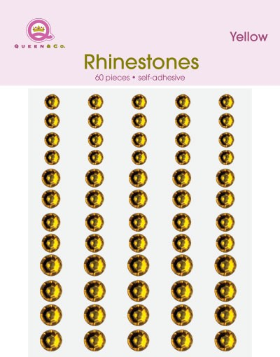 Bling Rhinestones - Sunflower Yellow