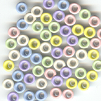 "60 Round 1/8"" Eyelets - Bazzill Spring Pastels"