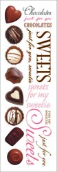 Chocolates Sweetie Rub-ons