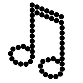 Music Note 1 Bling