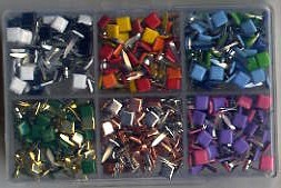Square Mini Brad Kit - 300 pc. Assortment