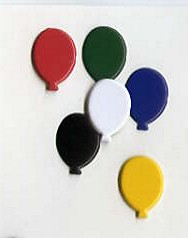 Balloon Brads - Primary (50)