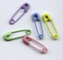 Safety Pins (50) - Pastel