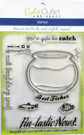 Fish Clear Stamp Set