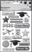 Graduation Dome Stickers