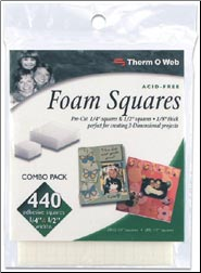 Foam Squares Combo Pack