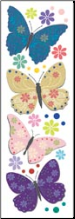 Butterfly Fantasy Rub-ons