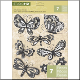 Studio 112 Butterfly Dimensional Stickers