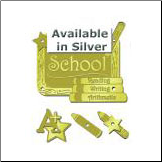 School Stackers - Silver