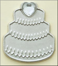 Wedding Cake Charms (10)