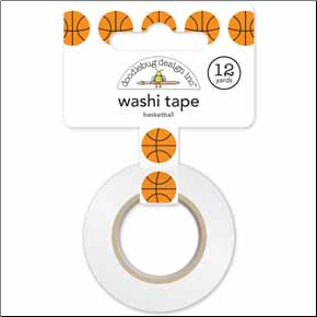 Basketballs Washi Tape