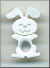 "Bunny Rabbit 3/16"" Eyelets - White"