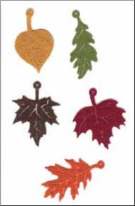 Autumn Leaves Felt Assortment