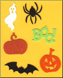 Halloween Felt Assortment
