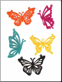 Butterfly Felt Assortment