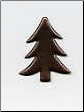 Tree Brads - Antique Copper (50)