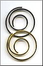 Spiral Clips - Gold & Silver