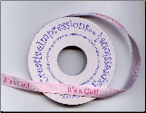 Ribbon, It's a Girl (5 yards)
