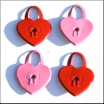 Heart Lock Quicklets Eyelets