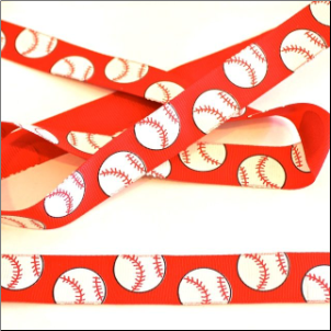 Baseball Ribbon - Red