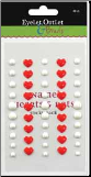 Enamel Hearts & Dots - Red/White