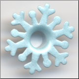 "Fancy Snowflake 3/16"" Eyelets - Icy Blue"