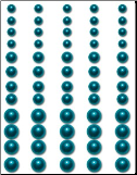 Bling Pearls - Teal