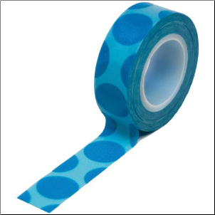 Trendy Tape - Mega Dot Blue