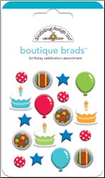 Birthday Celebration Boutique Brads