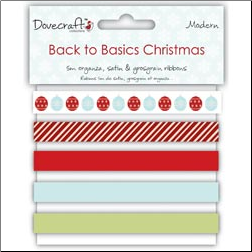 Back To Basics Christmas Ribbons - Modern