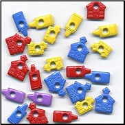 "School Assortment 1/8"" Eyelets"