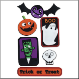 Spookytown Sticker Treads