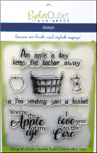 Apple Clear Stamp Set