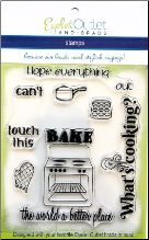 Cooking Clear Stamp Set