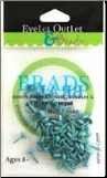 Mini Round Brads (70) - Light Blue