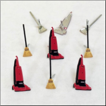 Broom & Vacuum Brads