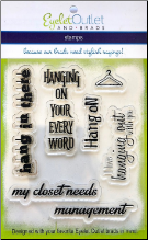 Hanger Clear Stamp Set